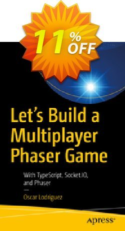 Let's Build a Multiplayer Phaser Game - Lodriguez  Coupon, discount Let's Build a Multiplayer Phaser Game (Lodriguez) Deal. Promotion: Let's Build a Multiplayer Phaser Game (Lodriguez) Exclusive Easter Sale offer for iVoicesoft