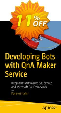 Developing Bots with QnA Maker Service - Kasam  Coupon discount Developing Bots with QnA Maker Service (Kasam) Deal - Developing Bots with QnA Maker Service (Kasam) Exclusive Easter Sale offer for iVoicesoft