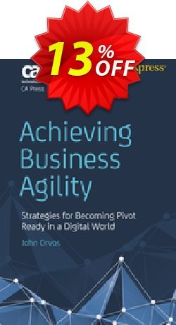 Achieving Business Agility - Orvos  Coupon discount Achieving Business Agility (Orvos) Deal - Achieving Business Agility (Orvos) Exclusive Easter Sale offer for iVoicesoft