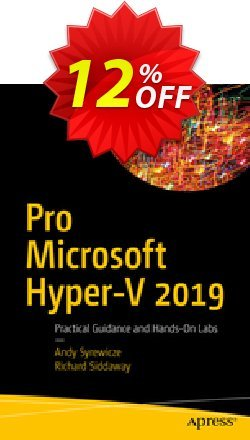 Pro Microsoft Hyper-V 2019 - Syrewicze  Coupon discount Pro Microsoft Hyper-V 2021 (Syrewicze) Deal. Promotion: Pro Microsoft Hyper-V 2021 (Syrewicze) Exclusive Easter Sale offer for iVoicesoft