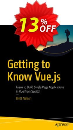Getting to Know Vue.js - Nelson  Coupon, discount Getting to Know Vue.js (Nelson) Deal. Promotion: Getting to Know Vue.js (Nelson) Exclusive Easter Sale offer for iVoicesoft