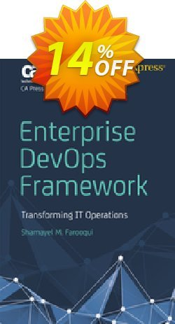 Enterprise DevOps Framework - Farooqui  Coupon discount Enterprise DevOps Framework (Farooqui) Deal - Enterprise DevOps Framework (Farooqui) Exclusive Easter Sale offer for iVoicesoft
