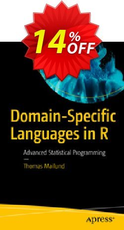 Domain-Specific Languages in R - Mailund  Coupon, discount Domain-Specific Languages in R (Mailund) Deal. Promotion: Domain-Specific Languages in R (Mailund) Exclusive Easter Sale offer for iVoicesoft