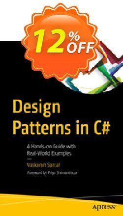 Design Patterns in C# - Sarcar  Coupon discount Design Patterns in C# (Sarcar) Deal - Design Patterns in C# (Sarcar) Exclusive Easter Sale offer for iVoicesoft