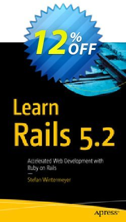 Learn Rails 5.2 - Wintermeyer  Coupon, discount Learn Rails 5.2 (Wintermeyer) Deal. Promotion: Learn Rails 5.2 (Wintermeyer) Exclusive Easter Sale offer for iVoicesoft