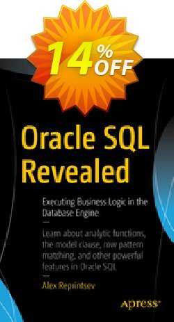 Oracle SQL Revealed - Reprintsev  Coupon, discount Oracle SQL Revealed (Reprintsev) Deal. Promotion: Oracle SQL Revealed (Reprintsev) Exclusive Easter Sale offer for iVoicesoft