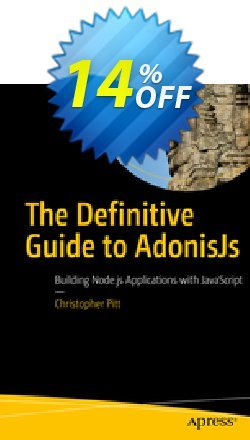The Definitive Guide to AdonisJs - Pitt  Coupon, discount The Definitive Guide to AdonisJs (Pitt) Deal. Promotion: The Definitive Guide to AdonisJs (Pitt) Exclusive Easter Sale offer for iVoicesoft