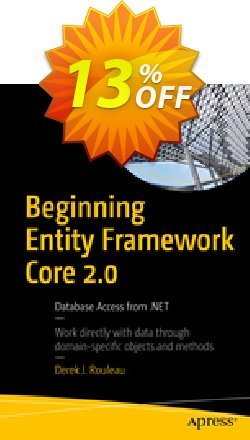 Beginning Entity Framework Core 2.0 - Rouleau  Coupon, discount Beginning Entity Framework Core 2.0 (Rouleau) Deal. Promotion: Beginning Entity Framework Core 2.0 (Rouleau) Exclusive Easter Sale offer for iVoicesoft