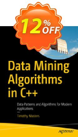 Data Mining Algorithms in C++ - Masters  Coupon, discount Data Mining Algorithms in C++ (Masters) Deal. Promotion: Data Mining Algorithms in C++ (Masters) Exclusive Easter Sale offer for iVoicesoft