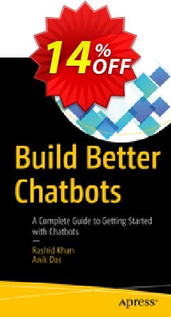 Build Better Chatbots - Khan  Coupon, discount Build Better Chatbots (Khan) Deal. Promotion: Build Better Chatbots (Khan) Exclusive Easter Sale offer for iVoicesoft