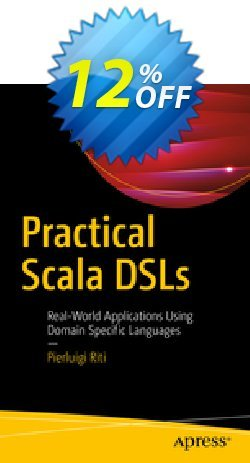 Practical Scala DSLs - Riti  Coupon discount Practical Scala DSLs (Riti) Deal - Practical Scala DSLs (Riti) Exclusive Easter Sale offer for iVoicesoft