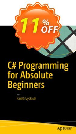 C# Programming for Absolute Beginners - Vystavěl  Coupon, discount C# Programming for Absolute Beginners (Vystavěl) Deal. Promotion: C# Programming for Absolute Beginners (Vystavěl) Exclusive Easter Sale offer for iVoicesoft