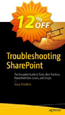 Troubleshooting SharePoint - Simpkins  Coupon, discount Troubleshooting SharePoint (Simpkins) Deal. Promotion: Troubleshooting SharePoint (Simpkins) Exclusive Easter Sale offer for iVoicesoft