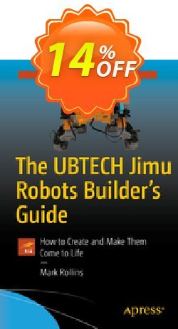 The UBTECH Jimu Robots Builder's Guide - Rollins  Coupon, discount The UBTECH Jimu Robots Builder's Guide (Rollins) Deal. Promotion: The UBTECH Jimu Robots Builder's Guide (Rollins) Exclusive Easter Sale offer for iVoicesoft