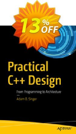 Practical C++ Design - Singer  Coupon, discount Practical C++ Design (Singer) Deal. Promotion: Practical C++ Design (Singer) Exclusive Easter Sale offer for iVoicesoft