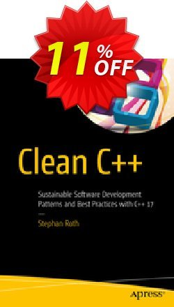 Clean C++ - Roth  Coupon, discount Clean C++ (Roth) Deal. Promotion: Clean C++ (Roth) Exclusive Easter Sale offer for iVoicesoft
