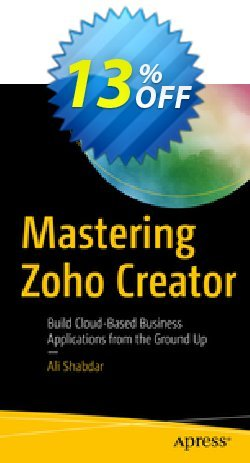 Mastering Zoho Creator - Shabdar  Coupon, discount Mastering Zoho Creator (Shabdar) Deal. Promotion: Mastering Zoho Creator (Shabdar) Exclusive Easter Sale offer for iVoicesoft