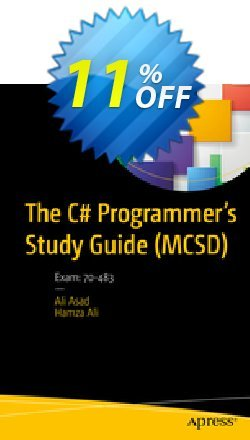 The C# Programmer's Study Guide - MCSD - Asad  Coupon discount The C# Programmer's Study Guide (MCSD) (Asad) Deal. Promotion: The C# Programmer's Study Guide (MCSD) (Asad) Exclusive Easter Sale offer for iVoicesoft