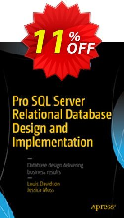Pro SQL Server Relational Database Design and Implementation - Davidson  Coupon discount Pro SQL Server Relational Database Design and Implementation (Davidson) Deal - Pro SQL Server Relational Database Design and Implementation (Davidson) Exclusive Easter Sale offer for iVoicesoft