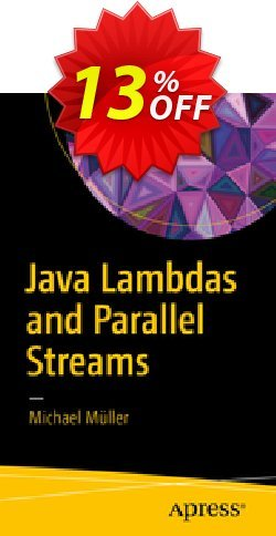 Java Lambdas and Parallel Streams - Müller  Coupon, discount Java Lambdas and Parallel Streams (Müller) Deal. Promotion: Java Lambdas and Parallel Streams (Müller) Exclusive Easter Sale offer for iVoicesoft