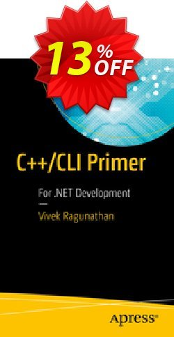 C++/CLI Primer - Ragunathan  Coupon, discount C++/CLI Primer (Ragunathan) Deal. Promotion: C++/CLI Primer (Ragunathan) Exclusive Easter Sale offer for iVoicesoft