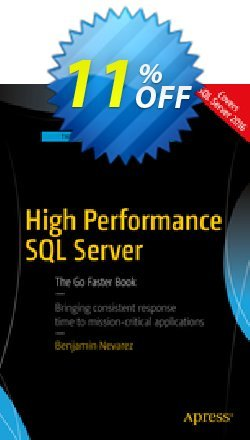 High Performance SQL Server - Nevarez  Coupon discount High Performance SQL Server (Nevarez) Deal - High Performance SQL Server (Nevarez) Exclusive Easter Sale offer for iVoicesoft