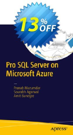 Pro SQL Server on Microsoft Azure - Mazumdar  Coupon discount Pro SQL Server on Microsoft Azure (Mazumdar) Deal - Pro SQL Server on Microsoft Azure (Mazumdar) Exclusive Easter Sale offer for iVoicesoft