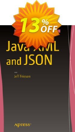 Java XML and JSON - Friesen  Coupon, discount Java XML and JSON (Friesen) Deal. Promotion: Java XML and JSON (Friesen) Exclusive Easter Sale offer for iVoicesoft