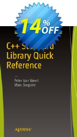 C++ Standard Library Quick Reference - Van Weert  Coupon, discount C++ Standard Library Quick Reference (Van Weert) Deal. Promotion: C++ Standard Library Quick Reference (Van Weert) Exclusive Easter Sale offer for iVoicesoft