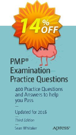 PMP® Examination Practice Questions - Whitaker  Coupon discount PMP® Examination Practice Questions (Whitaker) Deal - PMP® Examination Practice Questions (Whitaker) Exclusive Easter Sale offer for iVoicesoft