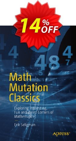 Math Mutation Classics - Seligman  Coupon, discount Math Mutation Classics (Seligman) Deal. Promotion: Math Mutation Classics (Seligman) Exclusive Easter Sale offer for iVoicesoft