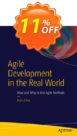 Agile Development in the Real World - Cline  Coupon, discount Agile Development in the Real World (Cline) Deal. Promotion: Agile Development in the Real World (Cline) Exclusive Easter Sale offer for iVoicesoft