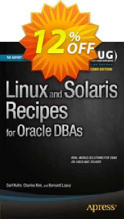 Linux and Solaris Recipes for Oracle DBAs - Kuhn  Coupon discount Linux and Solaris Recipes for Oracle DBAs (Kuhn) Deal - Linux and Solaris Recipes for Oracle DBAs (Kuhn) Exclusive Easter Sale offer for iVoicesoft