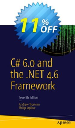 C# 6.0 and the .NET 4.6 Framework - Troelsen  Coupon, discount C# 6.0 and the .NET 4.6 Framework (Troelsen) Deal. Promotion: C# 6.0 and the .NET 4.6 Framework (Troelsen) Exclusive Easter Sale offer for iVoicesoft