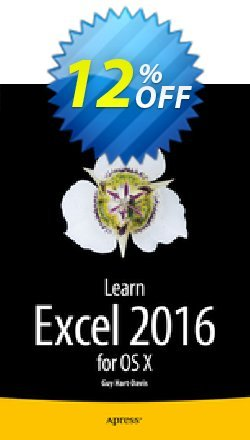 Learn Excel 2016 for OS X - Hart-Davis  Coupon, discount Learn Excel 2016 for OS X (Hart-Davis) Deal. Promotion: Learn Excel 2016 for OS X (Hart-Davis) Exclusive Easter Sale offer for iVoicesoft