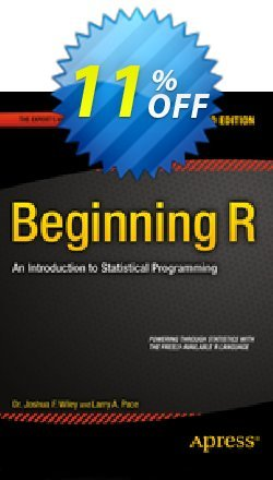 Beginning R - Pace  Coupon, discount Beginning R (Pace) Deal. Promotion: Beginning R (Pace) Exclusive Easter Sale offer for iVoicesoft