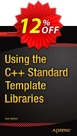 Using the C++ Standard Template Libraries - Horton  Coupon, discount Using the C++ Standard Template Libraries (Horton) Deal. Promotion: Using the C++ Standard Template Libraries (Horton) Exclusive Easter Sale offer for iVoicesoft