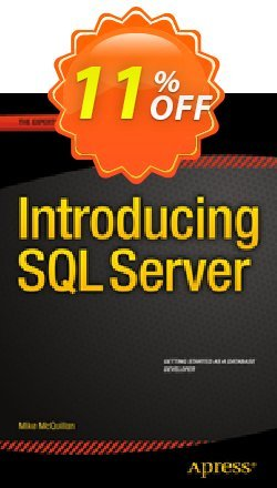 Introducing SQL Server - McQuillan  Coupon discount Introducing SQL Server (McQuillan) Deal - Introducing SQL Server (McQuillan) Exclusive Easter Sale offer for iVoicesoft