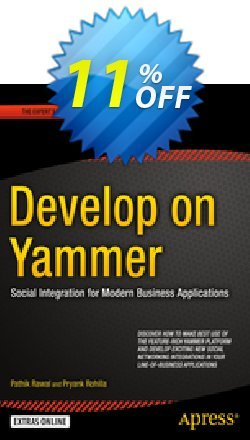 Develop on Yammer - Rawal  Coupon discount Develop on Yammer (Rawal) Deal - Develop on Yammer (Rawal) Exclusive Easter Sale offer for iVoicesoft