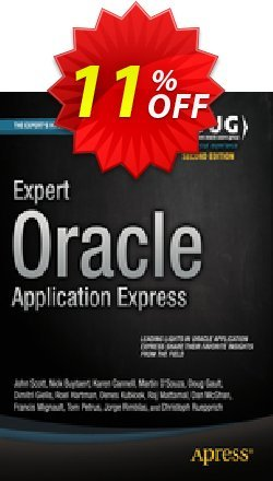 Expert Oracle Application Express - Gault  Coupon discount Expert Oracle Application Express (Gault) Deal - Expert Oracle Application Express (Gault) Exclusive Easter Sale offer for iVoicesoft