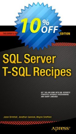 SQL Server T-SQL Recipes - Dye  Coupon discount SQL Server T-SQL Recipes (Dye) Deal - SQL Server T-SQL Recipes (Dye) Exclusive Easter Sale offer for iVoicesoft