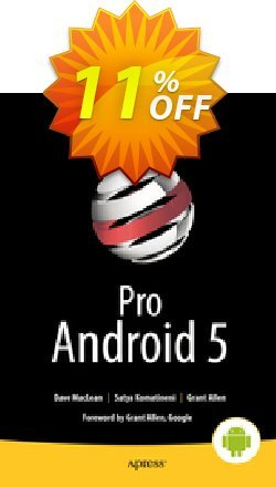 Pro Android 5 - MacLean  Coupon, discount Pro Android 5 (MacLean) Deal. Promotion: Pro Android 5 (MacLean) Exclusive Easter Sale offer for iVoicesoft