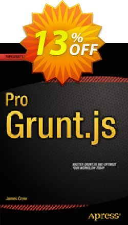 Pro Grunt.js - Cryer  Coupon, discount Pro Grunt.js (Cryer) Deal. Promotion: Pro Grunt.js (Cryer) Exclusive Easter Sale offer for iVoicesoft