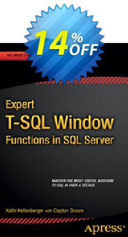 Expert T-SQL Window Functions in SQL Server - Kellenberger  Coupon discount Expert T-SQL Window Functions in SQL Server (Kellenberger) Deal - Expert T-SQL Window Functions in SQL Server (Kellenberger) Exclusive Easter Sale offer for iVoicesoft