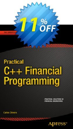 Practical C++ Financial Programming - Oliveira  Coupon, discount Practical C++ Financial Programming (Oliveira) Deal. Promotion: Practical C++ Financial Programming (Oliveira) Exclusive Easter Sale offer for iVoicesoft