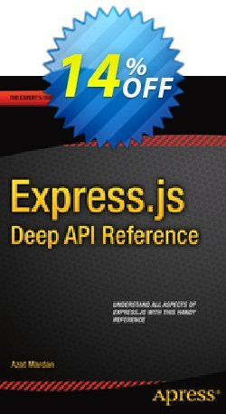 Express.js Deep API Reference - Mardan  Coupon, discount Express.js Deep API Reference (Mardan) Deal. Promotion: Express.js Deep API Reference (Mardan) Exclusive Easter Sale offer for iVoicesoft
