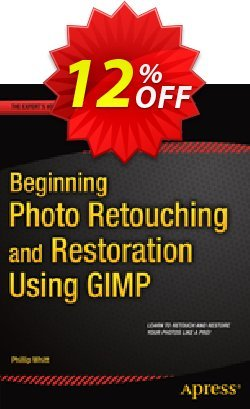 Beginning Photo Retouching and Restoration Using GIMP - Whitt  Coupon discount Beginning Photo Retouching and Restoration Using GIMP (Whitt) Deal. Promotion: Beginning Photo Retouching and Restoration Using GIMP (Whitt) Exclusive Easter Sale offer for iVoicesoft