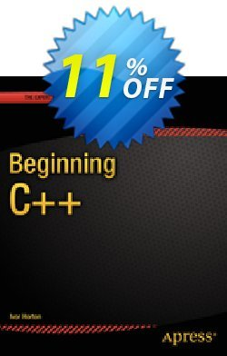 Beginning C++ - Horton  Coupon, discount Beginning C++ (Horton) Deal. Promotion: Beginning C++ (Horton) Exclusive Easter Sale offer for iVoicesoft