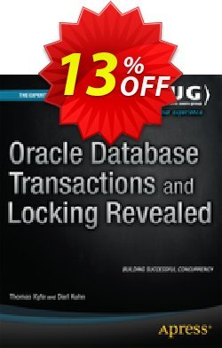 Oracle Database Transactions and Locking Revealed - Kyte  Coupon discount Oracle Database Transactions and Locking Revealed (Kyte) Deal - Oracle Database Transactions and Locking Revealed (Kyte) Exclusive Easter Sale offer for iVoicesoft