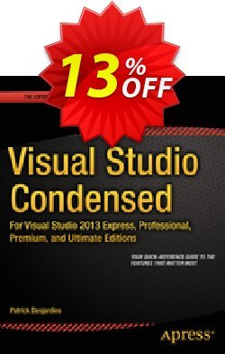 Visual Studio Condensed - Desjardins  Coupon discount Visual Studio Condensed (Desjardins) Deal - Visual Studio Condensed (Desjardins) Exclusive Easter Sale offer for iVoicesoft